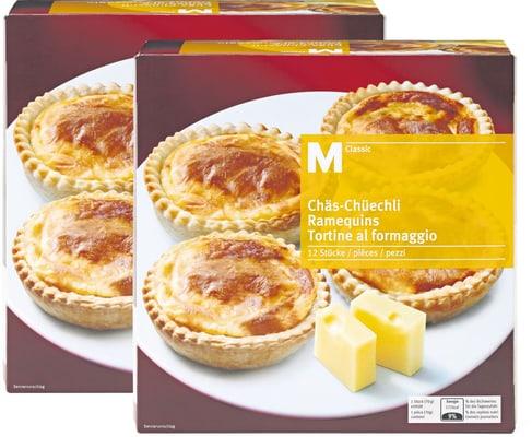 M-Classic Chäs-Chüechli im Duo-Pack
