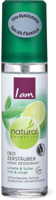 I am Natural Cosmetics Deo Vapo Limette Salbei