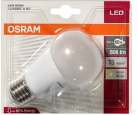 OSRAM LED STAR CLAS A 60 E27
