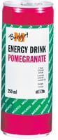 M-Budget Energy Drink Pomegranate