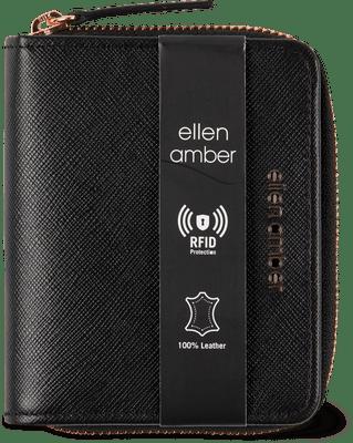 Ellen Amber Lederbörse Damen