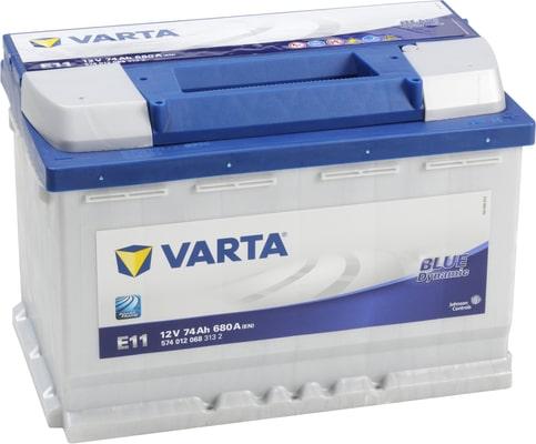 Varta Autobatterie E11 12V 74Ah 680A