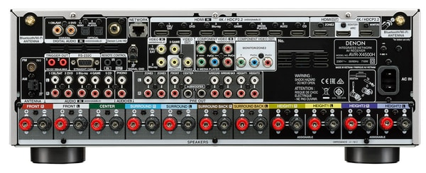Denon AVR-X4500H - Argento AV-Receiver