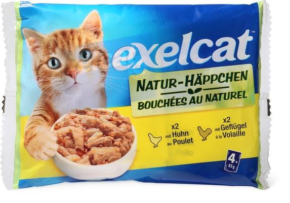 Exelcat Natur-Häppchen Geflügel