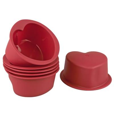 Cucina & Tavola Formine in silicone cuore