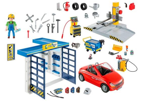 PLAYMOBIL 70202 Garage automobile