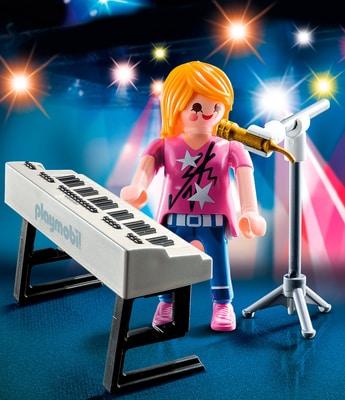 Playmobil Special Plus Sängerin am Keyboard 9095