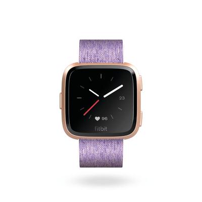 Fitbit Versa - Lavender Woven/Aluminium Roségold Special Edition Smartwatch