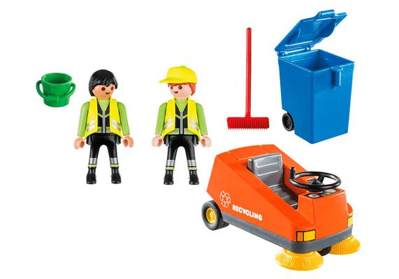 Playmobil 70203 Agents d'entretien de la voierie