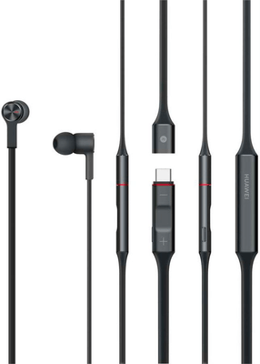 Huawei FreeLace CM-70-C - Graphite Black In-Ear Kopfhörer