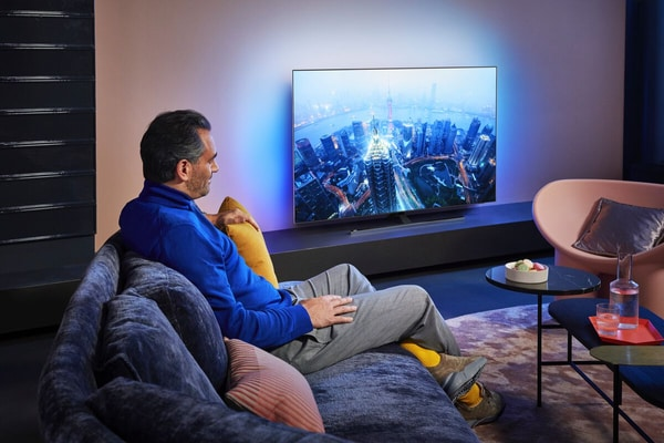"""Philips 55OLED865 55"""" 4K Android OS OLED TV"""