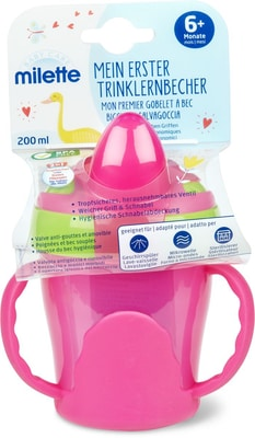 Milette Mon premier gobelet à bec, 200 ml