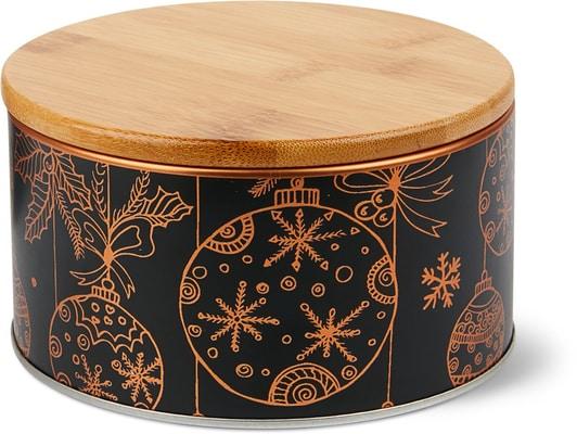 Cucina & Tavola Dose mit Bambusdeckel