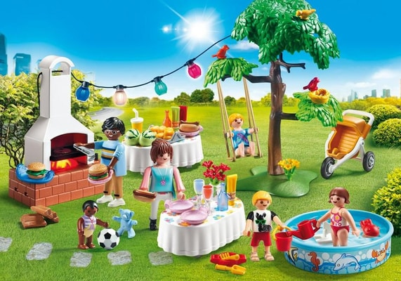Playmobil City Life Festa in giardino 9272