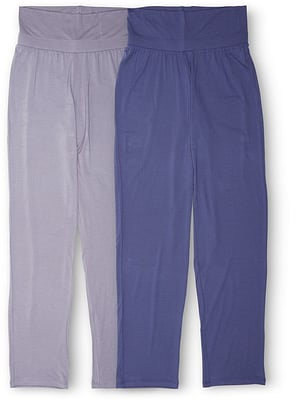 Schiesser Pantalon pour femmes bleu