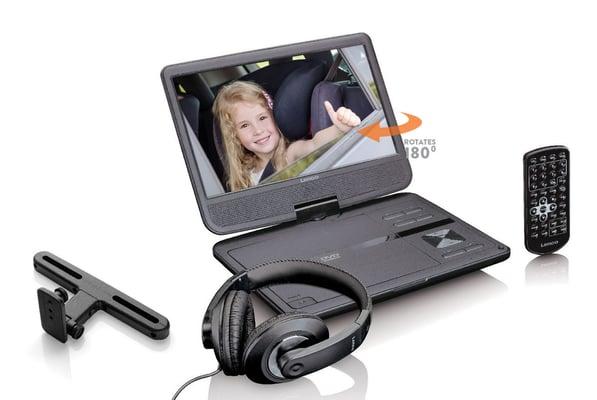 Lenco Lenco DVP-1010BK Portabler DVD Player Portabler DVD Player