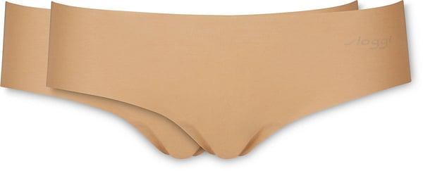 Sloggi donna Hipster conf. 2 Zero Cotton beige