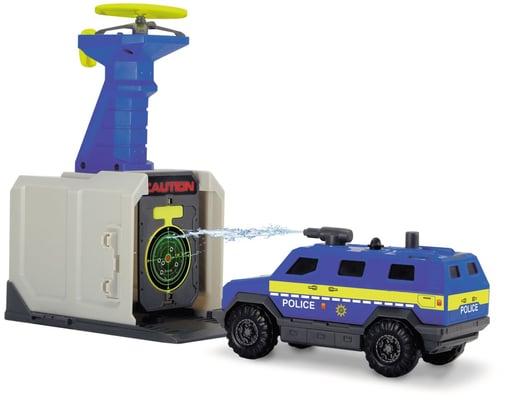 Dickie Toys Stazione di polizia con centrale die comando, base droni, poligono e prigione Macchinine