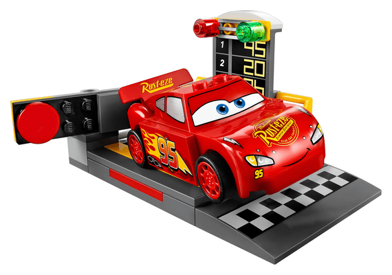 LEGO Juniors Le propulseur de Flash McQueen 10730