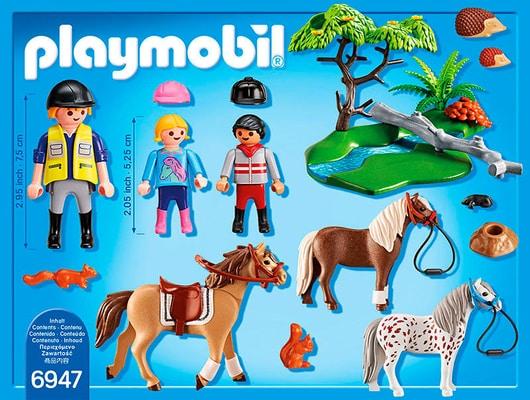 PLAYMOBIL Country Joyeuse promenade à cheval 6947