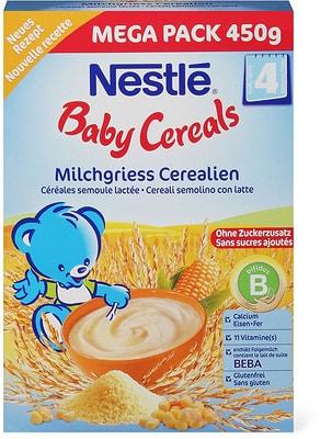 Nestlé Baby Cereals Semoule lactée