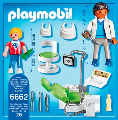 PLAYMOBIL City Life Cabinet de dentiste 6662