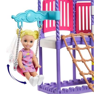 Barbie Skipper Playground Set Puppenset