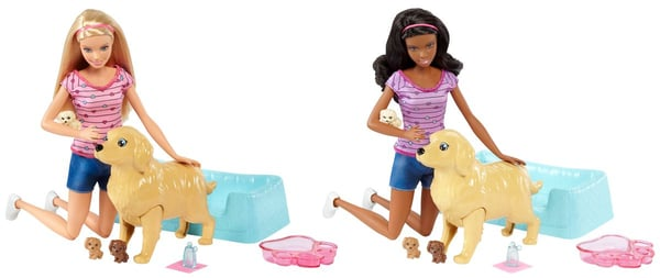 Barbie Cuccioli Appena Nati