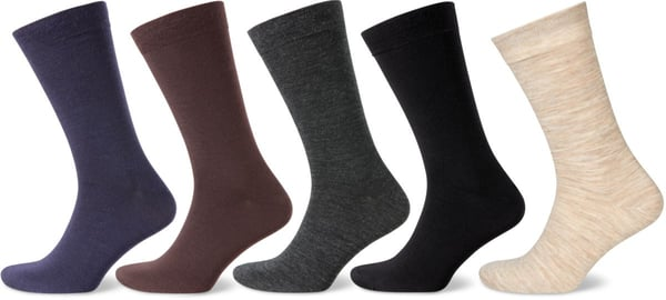 CHAUSSETTES POUR HOMMES WOOL 1-PRS anthracite