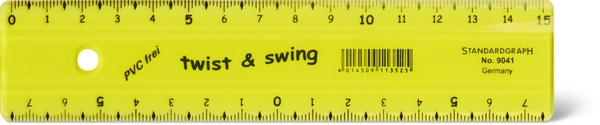 Lineal flexibel 15cm