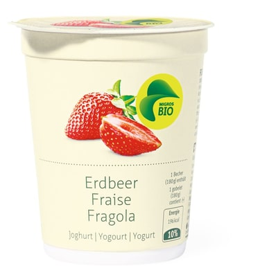 Bio Yogurt Fragola