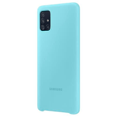 Samsung  Silicone Cover blue Coque