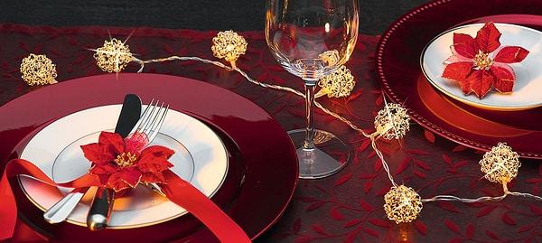 Cucina & Tavola Guirlande lumineuse pour la table 150cm
