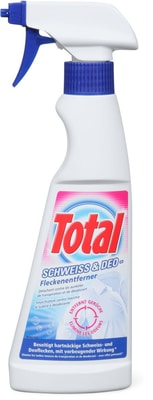Total Fleckentferner Schweiss & Deo