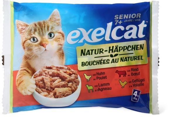 Exelcat bouchées Naturelles senior