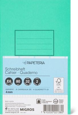 Papeteria E6 Schreibhefte