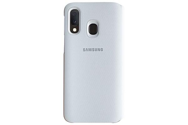 Samsung Wallet Cover A20e Weiss Hülle