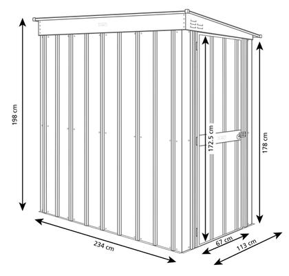 Globel Metall-Schuppen 4x8