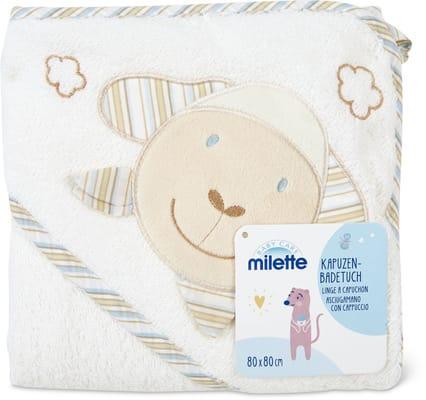 Milette Linge à capuchon, 80 x 80 cm