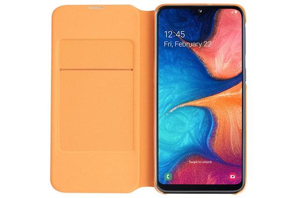 Samsung Wallet Cover A20e Blanc Coque