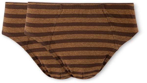 SLIP UOMO 2PCS PACK marrone s