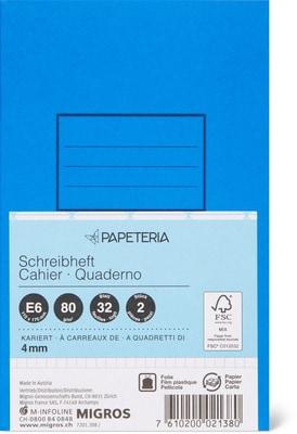 Papeteria E6 Quaderni