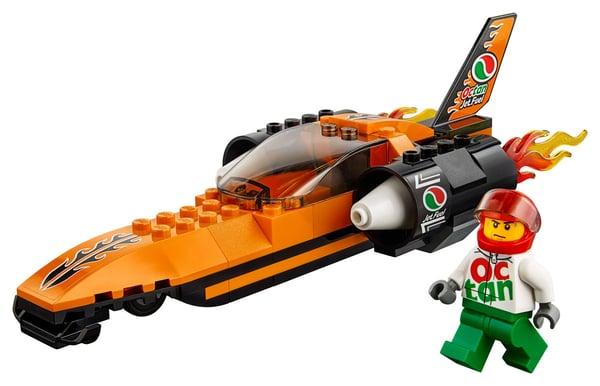 Lego City 60178 Bolide Da Record