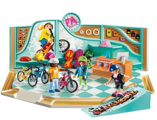 Playmobil Bike & Skate Shop