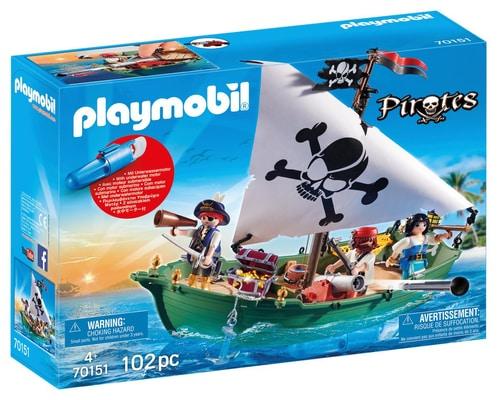 PLAYMOBIL 70151 CHALOUPE DES PIRATES