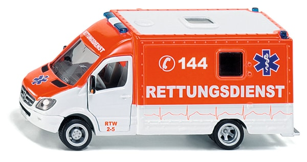 Siku Rettungswagen 144 1:50 Modellfahrzeug