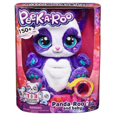 PEEK-A-Roo Panda Funktionsplüsch