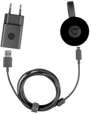 google chromecast chromecast 2 eu version noir migros. Black Bedroom Furniture Sets. Home Design Ideas