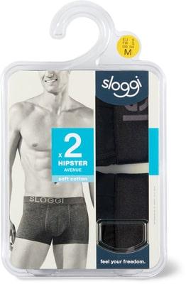 Hipster uomo Sloggi nero