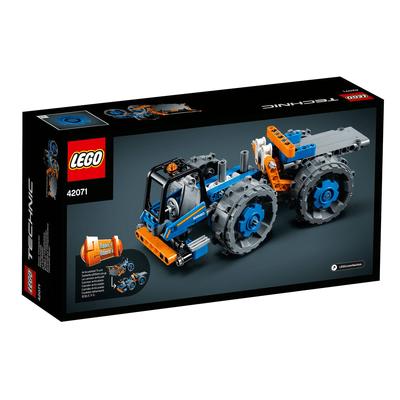 Lego Technic 42071 Ruspa Compattatrice